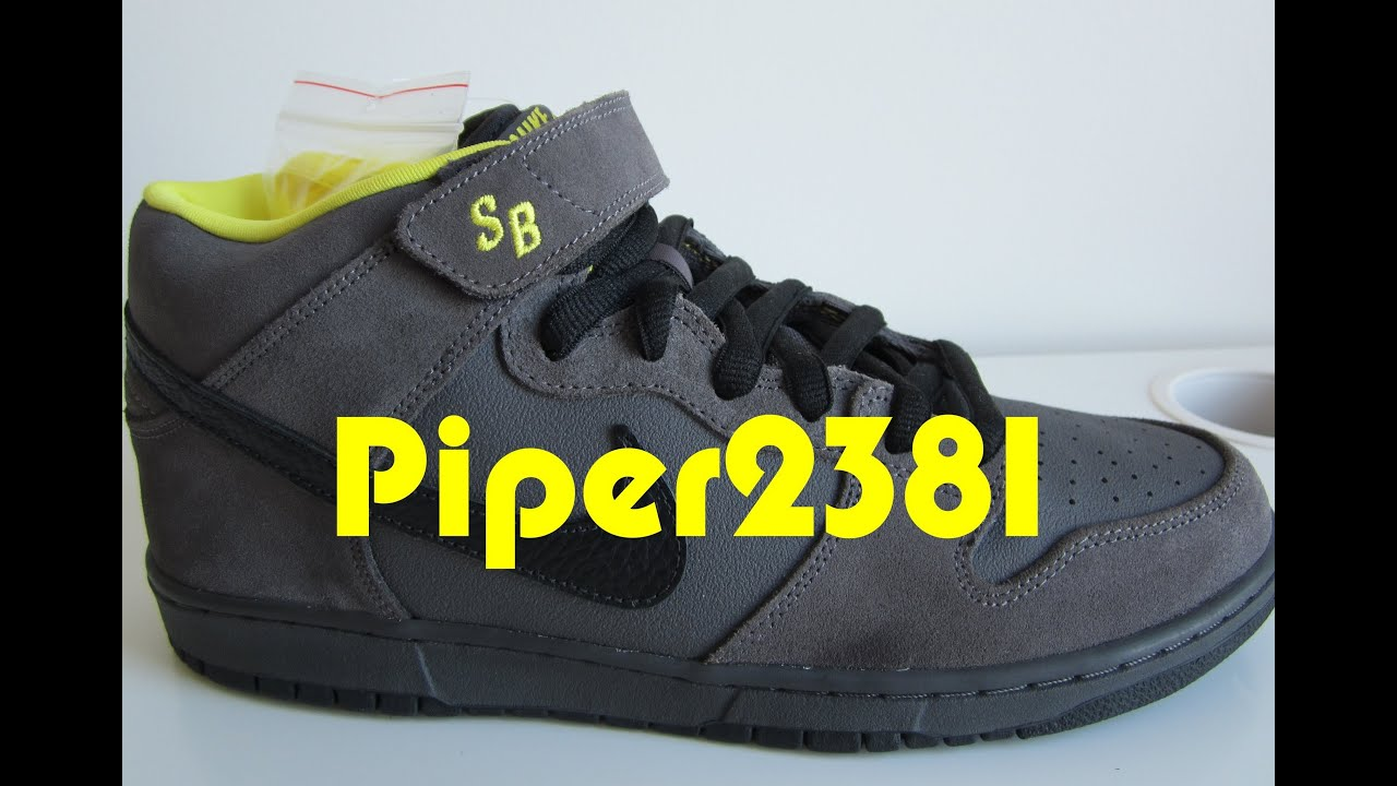 880a691acb7b Nike SB Batman Mids - YouTube