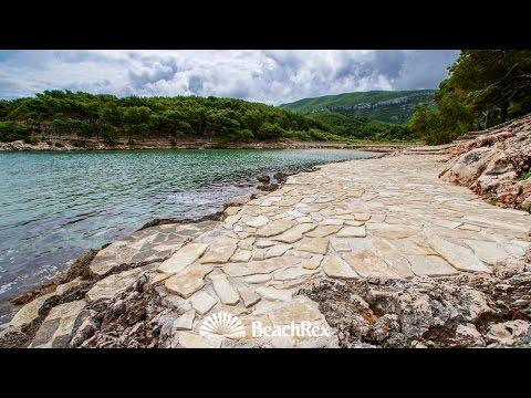 beach Mina, island Hvar, Jelsa, Croatia