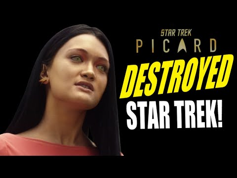 STAR TREK PICARD HAS COMPLETELY BETRAYED EVERYTHING STAR TREK STOOD FOR!