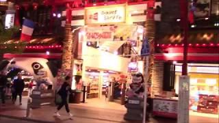 横浜中華街の夜を散歩