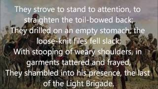 """The Last Of The Light Brigade"" by Rudyard Kipling read by Farnham Town Crier"
