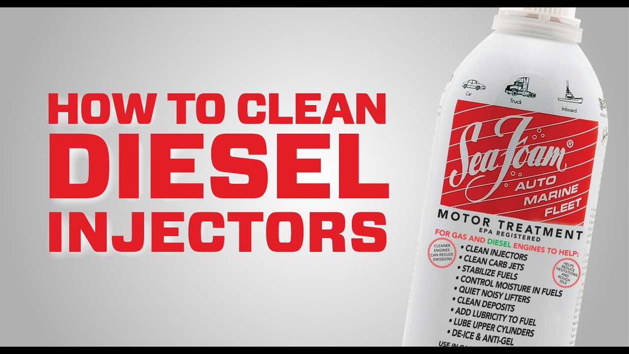 How To Clean Fuel Injectors With Seafoam