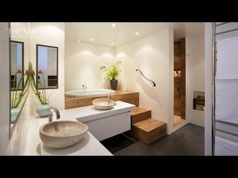 NKBA award winning bathroom and meditation spaceby Leonie Von Sturmer