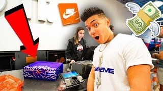 NIKE OUTLET BUY ANYTHING HALF OFF CHALLENGE!!