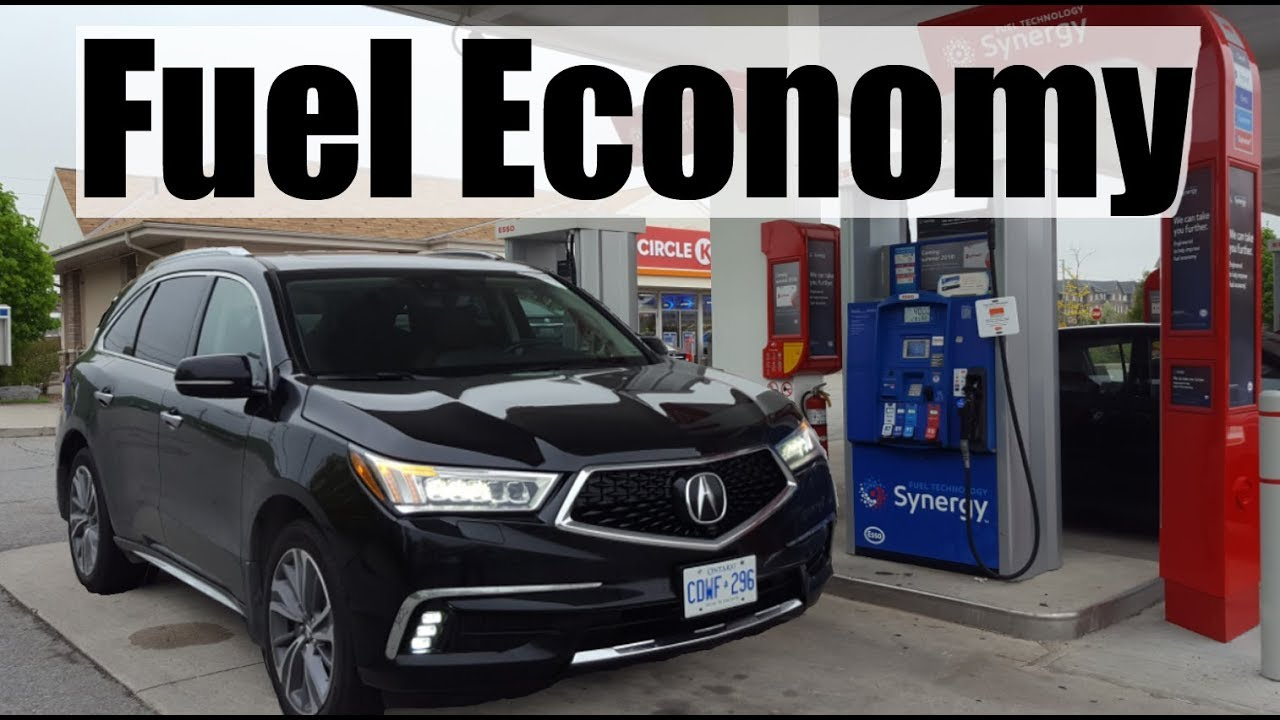 2018 Acura Mdx Fuel Economy Mpg Review Fill Up Costs