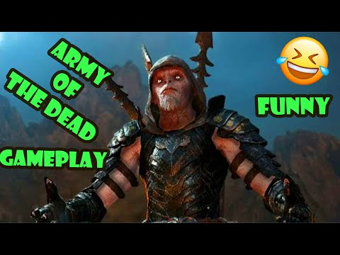 shadow of war mission (army of the dead) |