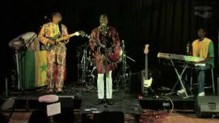 Laye Sow  & his band at Whitby Compass Club