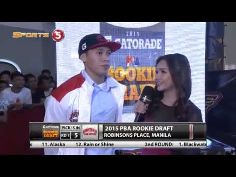 PBA Rookie Draft 2015 Round 1