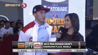 PBA Rookie Draft 2015 Round 1