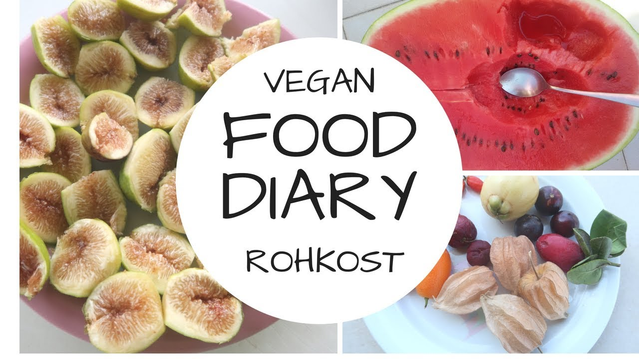 FOOD DIARY: schleimfreie Kost auf Sizilien/ Mono Früchte