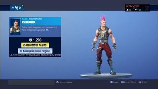 NEW SKIN!! DAY 28/11/2018 FORTNITE YOUR DAILY STORE