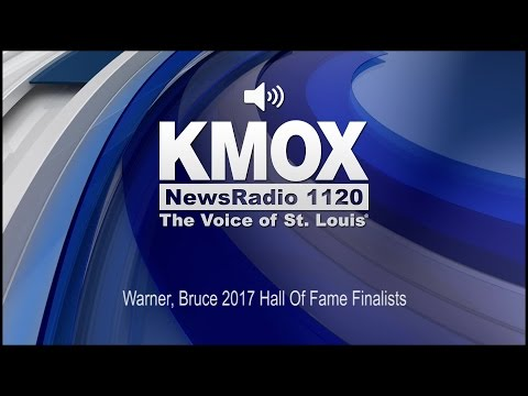 Warner, Bruce 2017 Hall Of Fame Finalists (Audio)