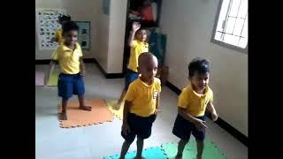 JUNIOR KG KIDS AT MUSIC MOVEMENTS IN KIDZEE AMBATTUR,CHENNAI