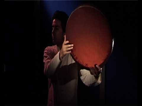 Iranian Kurdish Frame Drum (Daf ) Solo Performance & Sound Introduction on Synthetic Head