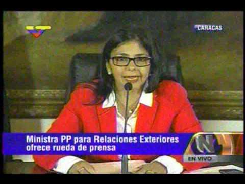 Delcy Rodríguez: Presidente de Guyana  señala a patrullero venezolano en su libro