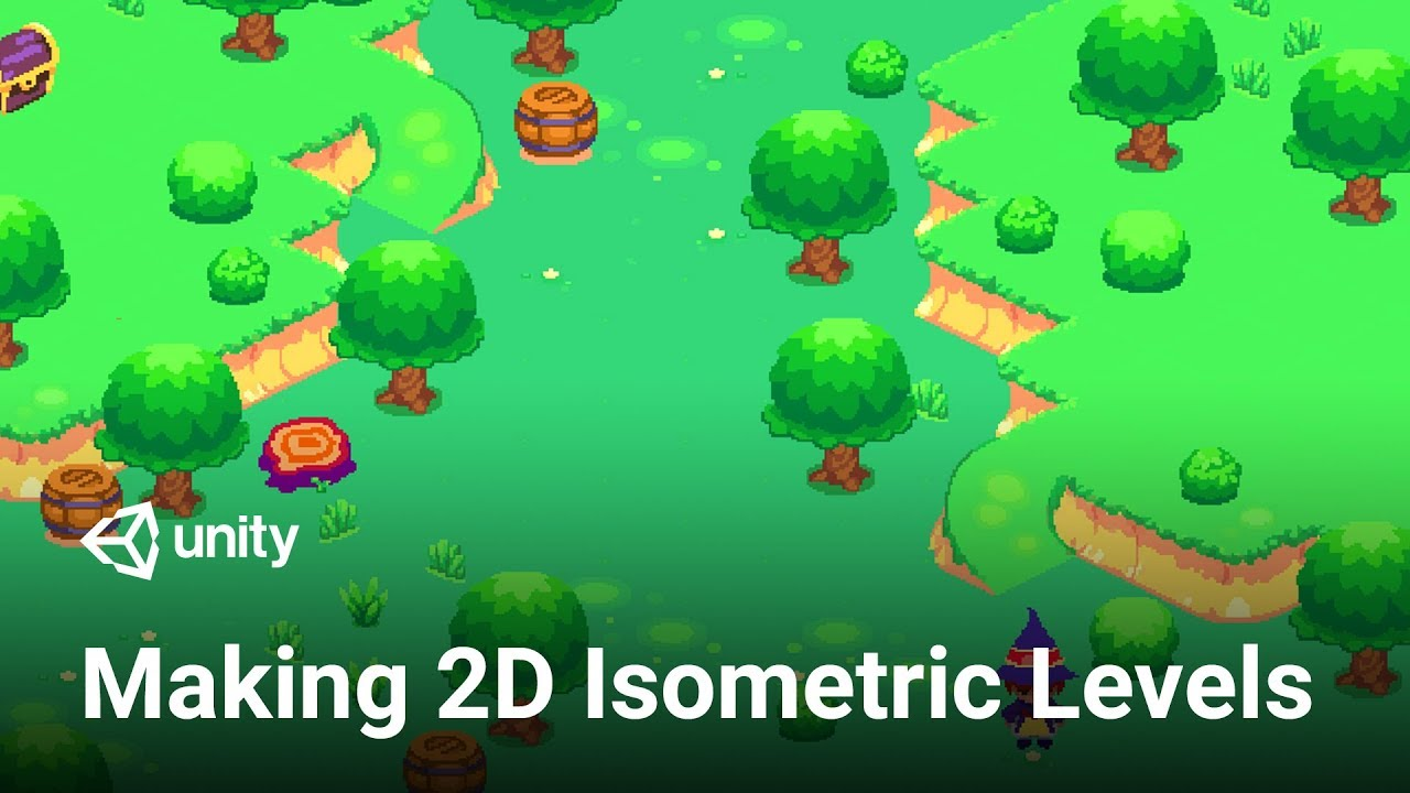 Authoring 2d Levels With Isometric Tilemap In Unity 2018 3 Tutorial Youtube