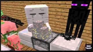 Minecraft Escola Monstro #14 : Saiba cozinhar - Minecraft Animação Engraçado 2016