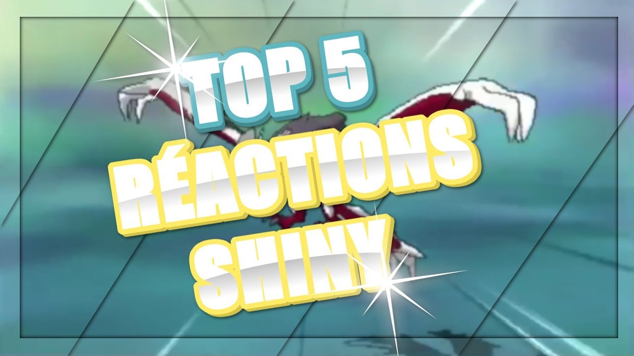 5 meilleures r action de pokemon l gendaire shiny par ultra br che youtube - Legendaire shiney ...