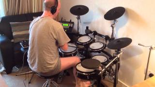 Bob Seger - The Fire Inside (Roland TD-12 Drum Cover)