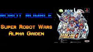 Robot Rumble: Super Robot Wars Alpha Gaiden (St43 pt.A) (Zanger-hen)