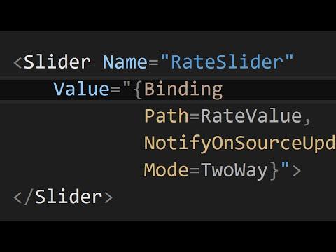 How to Data Bind in WPF (C#/XAML)
