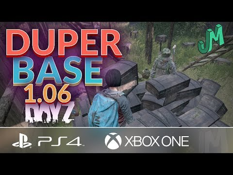 Found a DUPERS BASE on Official 🎒 DayZ 1.06 🎮 PS4 Xbox PC