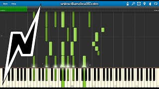 Noisestorm - Sentinel [Piano Tutorial] (Synthesia)