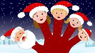 Finger Family Santa Claus   Santa Claus Nursery Rhymes   Christmas Songs For Children by Kids Tv