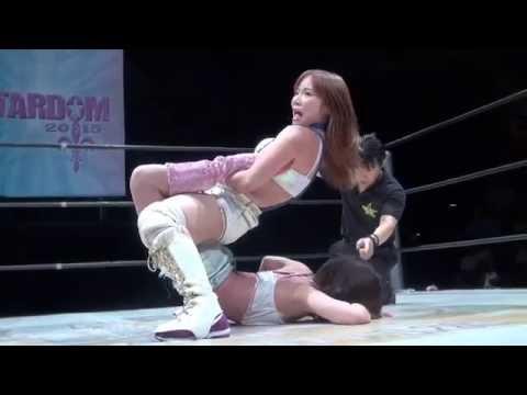 Females Wrestling Boston Crab Holds
