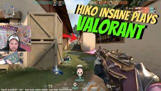 HIKO's INSANE Breach Gąme vs Popular Pros [FULL VALORANT MATCH]