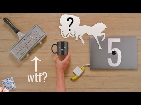 5 Strange Amazon Tech Gadgets