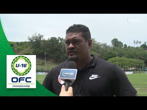 2018 OFC U16 CHAMPIONSHIP - Fiji v Tahiti - Post Match Interview