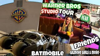 warner brothers studio tour hollywood