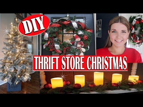 HOW I SHOP THE THRIFT STORE FOR CHRISTMAS 🎄 THRIFT STORE CHRISTMAS DECOR