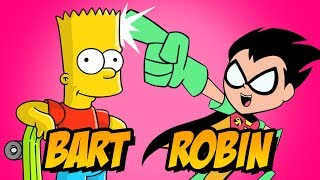 How to Draw Bart Simpson Robin | Awesome Art Challenge Tutorial