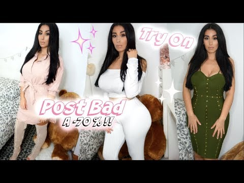 e7a915c44eb TRY ON HAUL ✨ HABILLE TOI COMME UNE POST BAD - YouTube