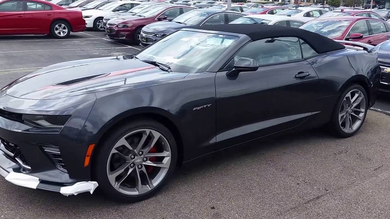 2017 chevrolet camaro 2ss convertible 50th anniversary edition youtube. Black Bedroom Furniture Sets. Home Design Ideas
