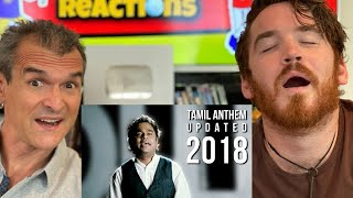 SemMozhi | Tamil Anthem by AR.Rahman | REACTION!!