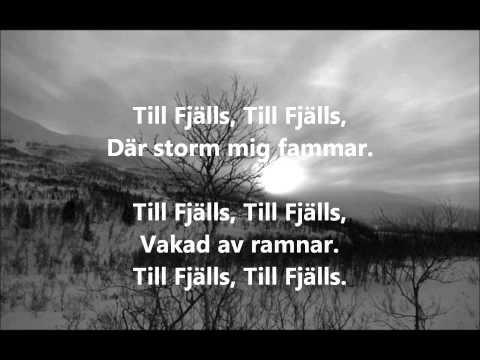 Vintersorg  Till Fjälls LYRICS HQHD