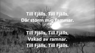 Vintersorg - Till Fjälls LYRICS (HQ/HD)