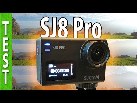 SJCam SJ8 Pro - comprehensive review! (compared with Gopro7, SJ7)