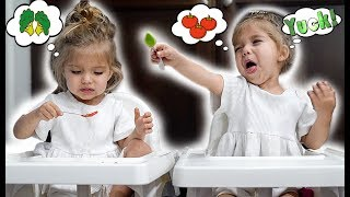 Toddlers Try GROSS Food *Hilarious*