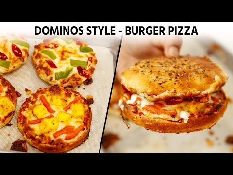 Burger Pizza – Dominos Style Recipe – CookingShooking