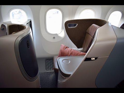 Singapore 787 Business Denpasar - Singapur