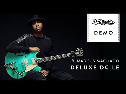 Deluxe DC LE with Marcus Machado   D'Angelico Guitars