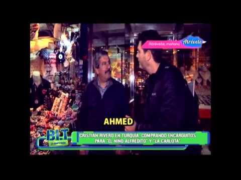 Los regalos que compró Cristian en Turquía para los chicos de BLT