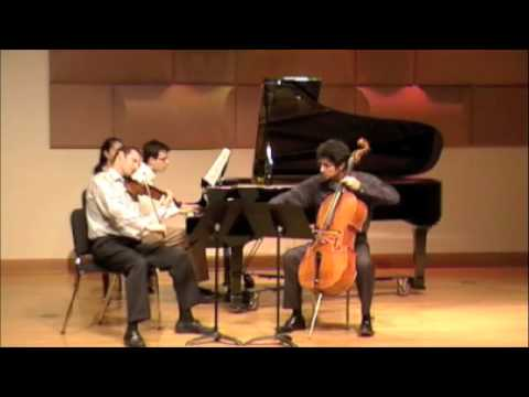 Brahms Piano Trio No. 1 in B Major - III.