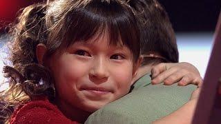 Японка на Голос Дети 4.