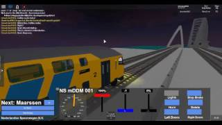 ROBLOX: Driving NS mDDM from Utrecht to Breukelen. (Sprinter)