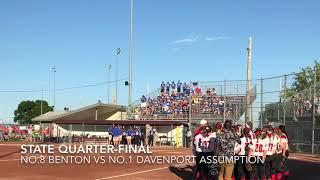 Softball highlights: Benton vs Davenport Assumption
